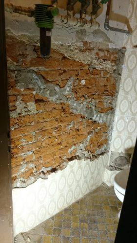 Schöne Wand - von innen (oder: Zerstörungswut geht weiter – Teil 4)